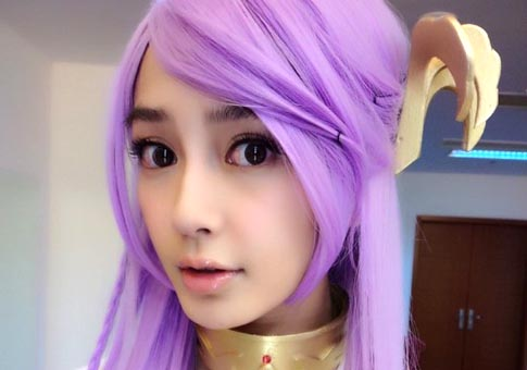 Fotos de cosplay de Angelababy