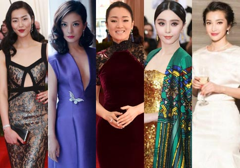 "Estrellas de China en ""The Met Gala"""