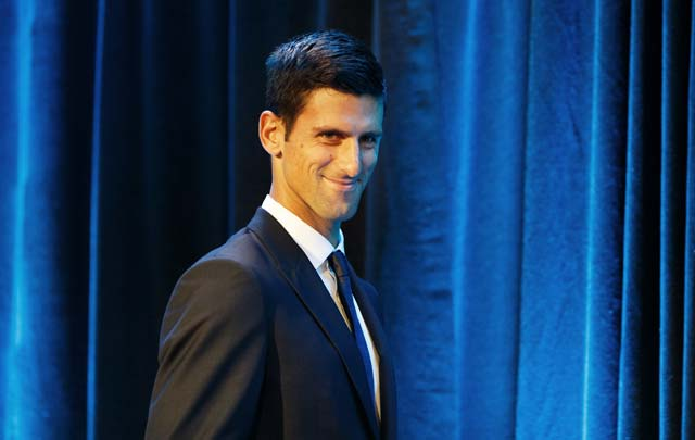 Novak Djokovic, embajador de buena voluntad de UNICEF