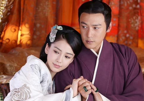 Angelababy en Yunge from the Desert