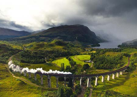 Glenfinnan: Paisaje mágico en Harry Potter