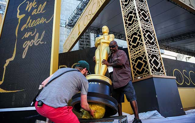 Transforman Dolby Theater para los Oscar 2016