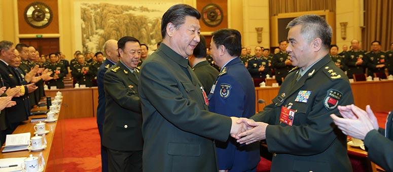 Innovación fortalecerá capacidad de combate, asegura presidente chino
