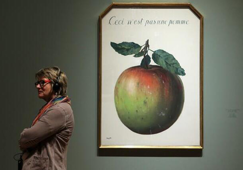 """MAGRITTE. THE TREACHERY OF IMAGES"" en Frankfurt"