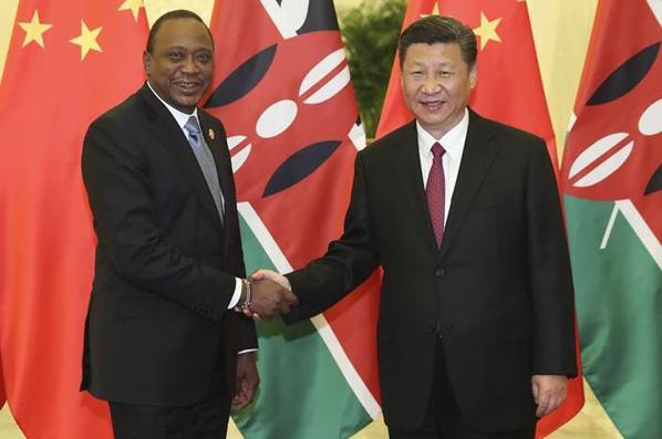 (Franja y Ruta) Presidente Xi: China está dispuesta a impulsar lazos bilaterales con Kenia