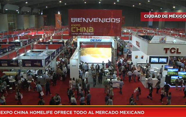 Expo China Homelife ofrece todo al mercado mexicano