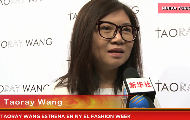 Taoray Wang estrena en NY el fashion week
