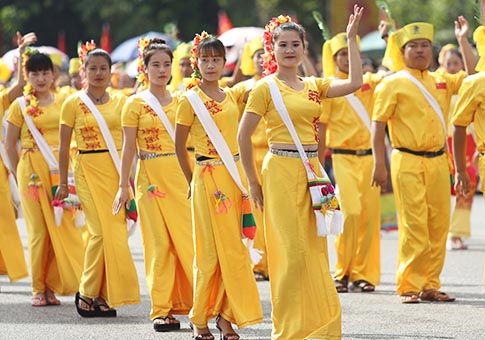 "Yunnan: Carnaval amistad ""paukphaw"" entre China y Myanmar"