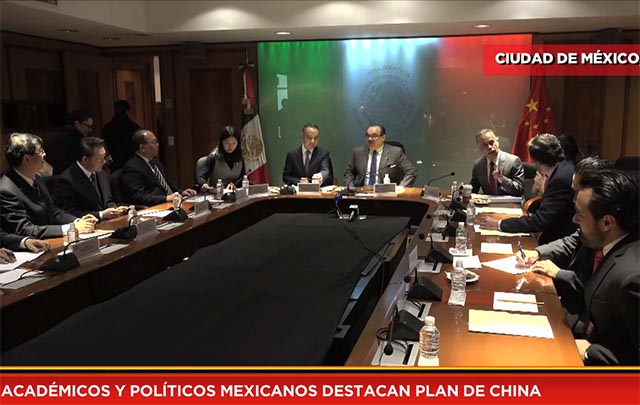 Académicos y políticos mexicanos destacan plan de China