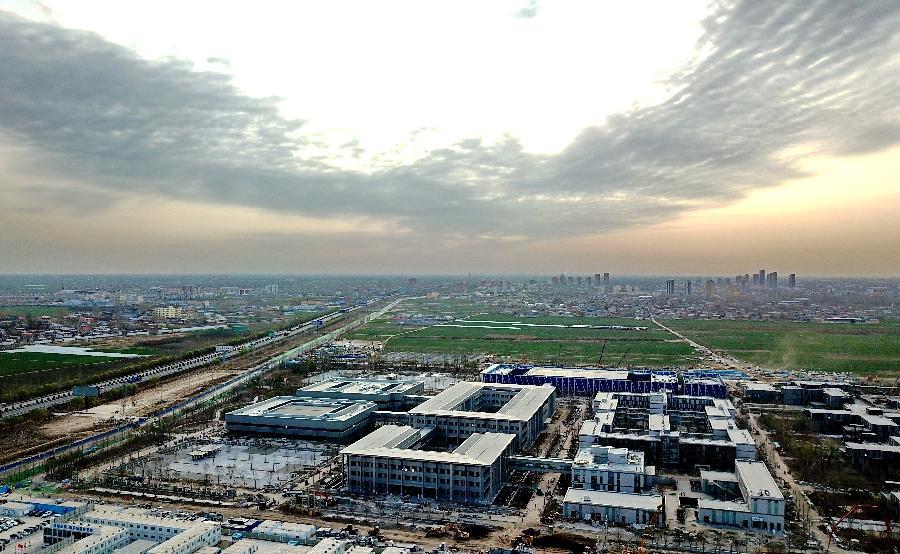 Construcción de Xiongan prima ecología, alta tecnología y eficiencia