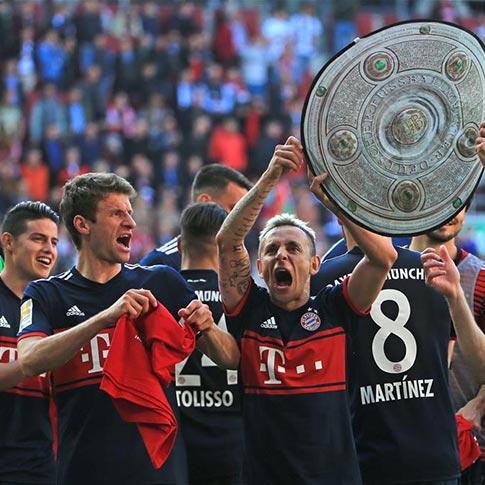 Fútbol: Bayern de Múnich se hace con el 28º título de la Bundesliga