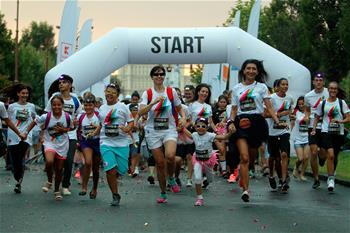"""Color Run"" en Bucarest"