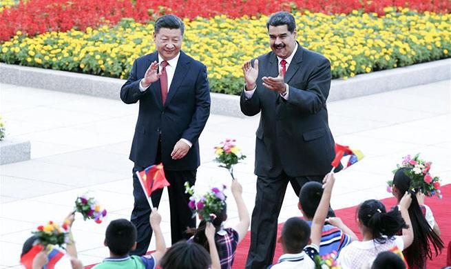 Xi y Maduro acuerdan elevar los lazos bilaterales a un nivel más alto