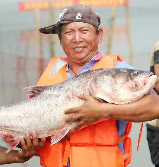 Pescadores volvieron a sus labores después de prohibición de pesca en el Lago Changdang