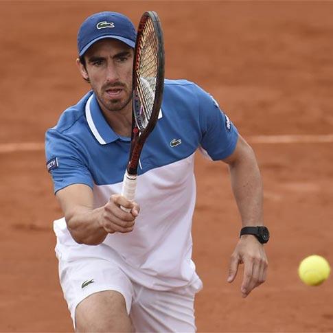 Tenis: Fotos de partido individual por la final del Grupo II Zona Americana de la Copa Davis