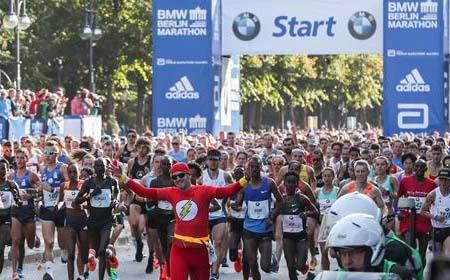 Maratón de Berlín 2018 inició el domingo