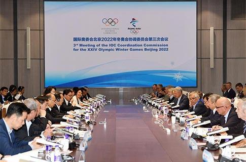 Comisión de Coordinación de COI tiene confianza antes de Beijing 2022