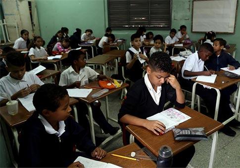 Maduro saluda inicio de periodo escolar en Venezuela