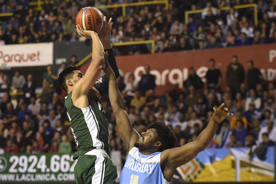 Partido correspondiente a segunda ronda de Grupo E para Mundial de Baloncesto China 2019: Uruguay VS México