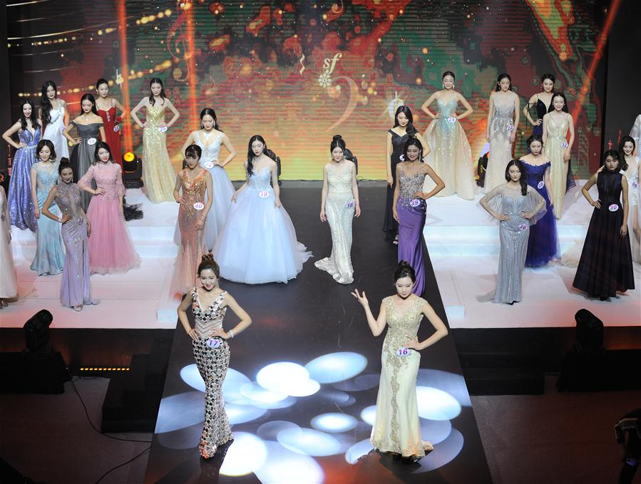 Momentos en el concurso final de Miss Mundo China 2018