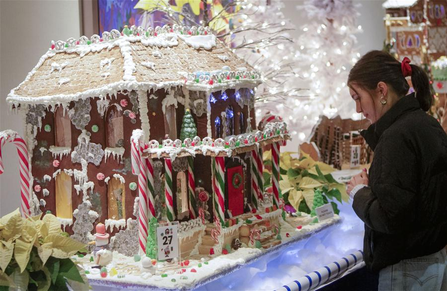 "Vancouver: el 28 evento anual ""Gingerbread Lane"""