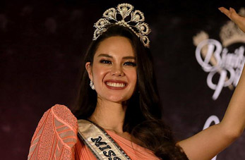 Catriona Gray, Miss Universo 2018, regresa a casa en Filipinas