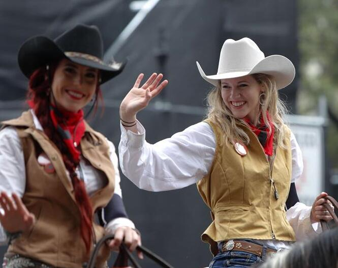 Desfile anual del Rodeo de Houston