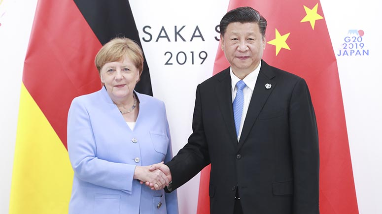 China y Alemania expresan apoyo al multilateralismo