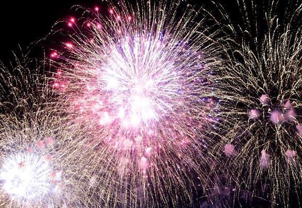El Festival de Fuegos Artificiales del barrio de Dadaocheng de