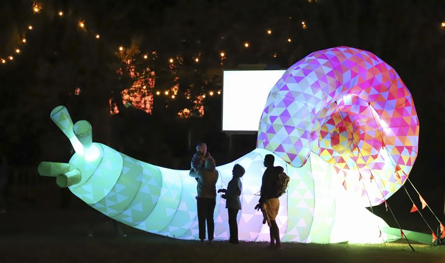 Festival Enlighten en Canberra, Australia