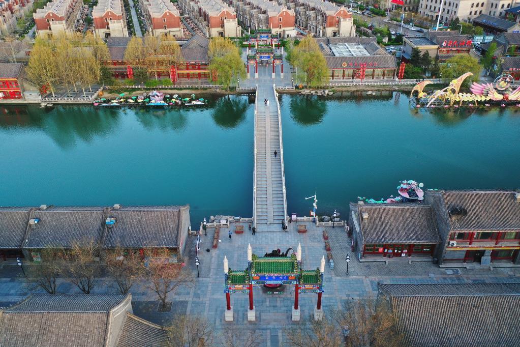 Programa holístico de gestión del agua urbana en Fengnan, Hebei