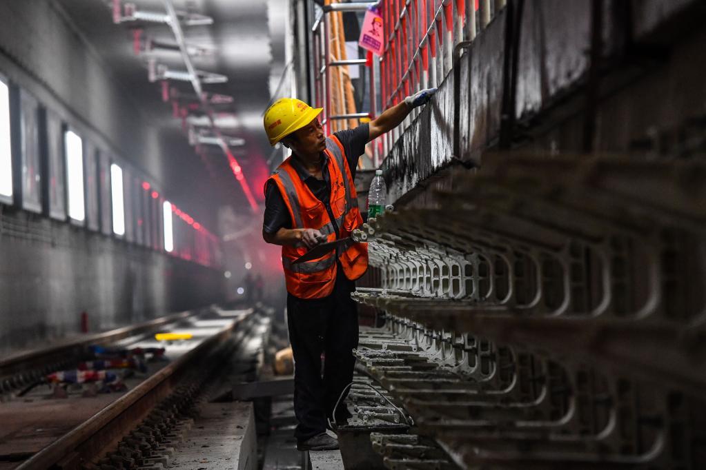 Construcción de Línea 18 del Metro en Guangzhou