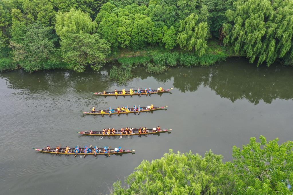 Jiangsu: Ciudad de Taizhou promueve turismo deportivo